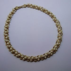 Vintage Richelieu Simulated Pearl Necklace